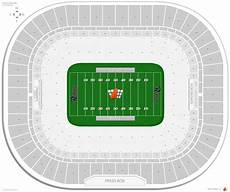 Edward Jones Dome Seating Chart Rows Edward Jones Dome Football Seating Guide Rateyourseats Com