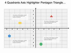 4 Quadrant Chart Excel Template 4 Quadrants Axis Highlighter Pentagon Triangle Circle And