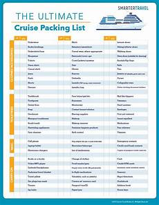 Printable Packing List For Cruise The Ultimate Cruise Packing List What To Pack For A