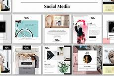 social media design templates social media design kit facebook templates creative market