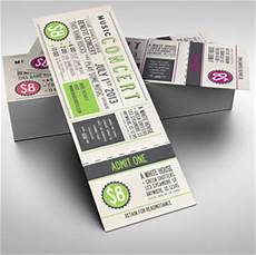 Numbered Event Tickets Event Ticket Printing