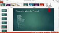 How To Create Powerpoint Theme Powerpoint Tutorial How To Change Templates And Themes