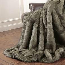 mannered fox faux fur throw blanket reviews