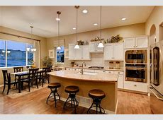 Dining, Breakfast Nook & Kitchen   Paradise floor plan built by Classic Homes. Model home is