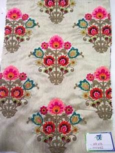 embroidery fabric cotton and silk butta embroidery fabrics rs 485 meter