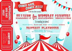 Carnival Theme Party Invitations Templates Circus Party Invitation Border Party Invitations Ideas