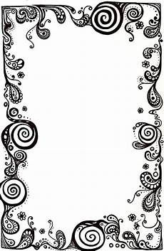 Blank Designs Simple Page Border Designs To Draw Free Download On