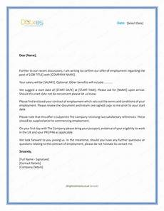 Job Offer Template Word Job Offer Letter Download Free Formats And Sample For