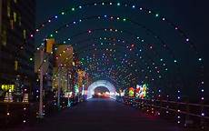 Va Beach Oceanfront Holiday Lights Holiday Lights Merry Mile Virginia Beach Hotels