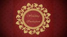 Invitation Front Page Design How To Design A Wedding Invitation Card Front Page Using