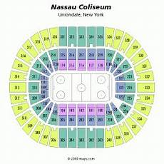 New York Islanders Coliseum Seating Chart New York Islanders Nassau Coliseum