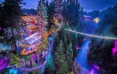 Capilano Suspension Bridge Canyon Lights Tickets Canyon Lights Will Transform Capilano Suspension Bridge