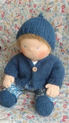 nestled rainbows free waldorf doll clothes knitting