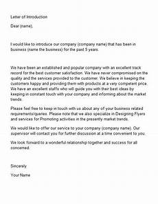 Formal Introduction Email Letter Of Introduction Template 15 Https Bravebtr Com