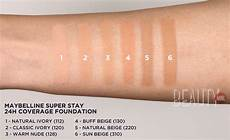 Maybelline Better Skin Foundation Colour Chart We Tried Maybelline S Most Full Coverage Foundation Yet