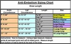 Anti Embolism Below Knee Inspection Toe