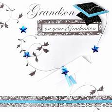 Graduation Greeting Card Grandson On Your Graduation Congratulations Greeting Card