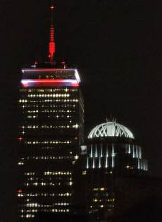Prudential Center Lights A Luminous Evening At The Prudential Center Boston