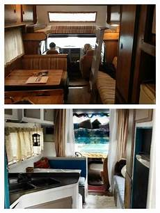 2 month rv renovation before and after