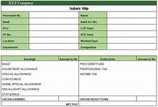 Salary Slip Format India Everything You Should Know About Salary Slip Pay Slip
