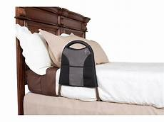 bedside econorail bed rail with travel tote athletic