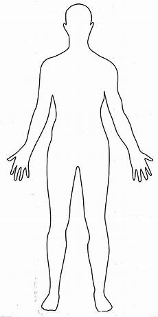 Human Outline Human Body 1 The Deep Water Project
