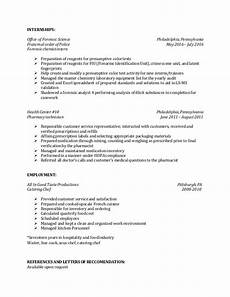 Entry Level Science Resumes Entry Level Forensic Scientist Resume