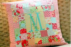 patchwork pillow pattern and tutorial the cottage