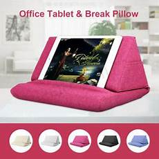 plush tablet holder wedge pillow angled cushion stand