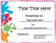Student Certificates Free Free Printable Award Certificate Template Your