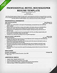 Housekeeping Skills Resume Housekeeping And Cleaning Cover Letter Samples Resume Genius