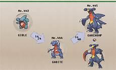 Garchomp Evolution Chart Pok 233 Mon Of The Week Garchomp
