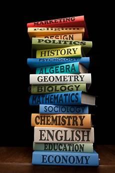 Books For College Graduates Education Study School College Books Textbooks Stock Photo
