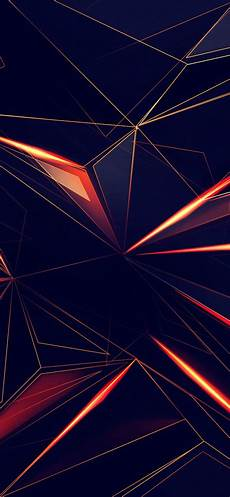 iphone x wallpaper line 3d shapes abstract lines 4k in 1125x2436 resolution in