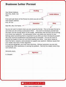 Letter To Business Format Business Letter Format Fotolip