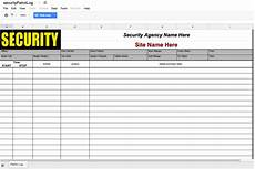 Security Guard Template Security Agency Reporting Tip