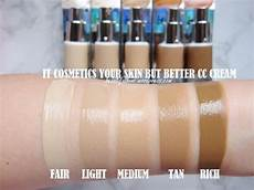 It Cosmetics Cc Cream Light Review Swatches It Cosmetics Your Skin But Better Cc