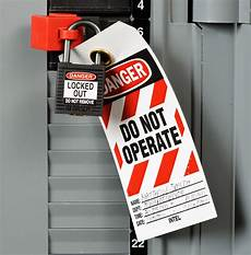 Lock Out Tag Out Electrical Safety And Lockout Tagout Safety Inc