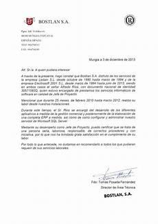 Formatos Para Referencias Laborales Aupabilbao Referencias Laborales Para Alfredo Rios Gomez