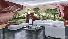 Cave Sofa 3d Image by Custom Mural Wall 3d Stereoscopic Cave Wall Forest