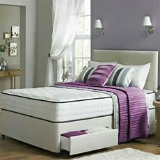 163 279 henry divan bed with memory foam mattress 4