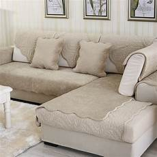Velvet Sofa Cover 3d Image by Combination Seat Sofa Covers Protector Velvet Eco Friendly
