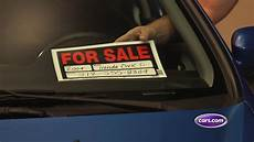 For Sale Sign For Car Driving Smart Prep Your Car For Sale Youtube