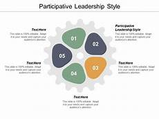 Participative Leadership Participative Leadership Style Ppt Powerpoint Presentation
