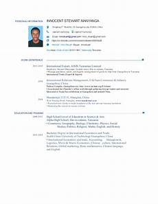 Personal Data In Resume Personal Information Resume Pdf