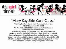 Quot Mark Skin Care Class Quot My Business Pinterest