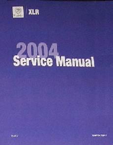 2004 Cadillac Xlr Factory Service Repair Workshop Manual