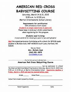 Babysitter Sign Up Babysitting Certification Classes Near Me Edit Fill Out