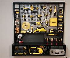 diy power tool storage w charging station