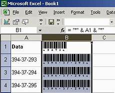 Excel Barcode Font Barcoding In Microsoft Excel Officebarcode Com